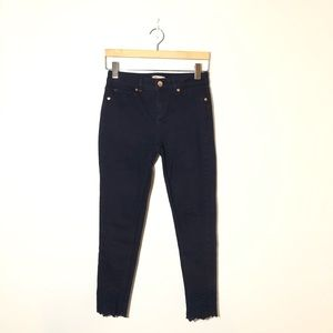 TED BAKER LONDON Massiee Embroidered Jeans Sz 26
